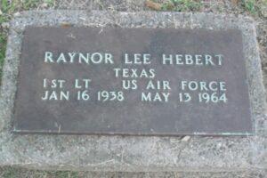 An American Hero: Raynor Lee Hebert